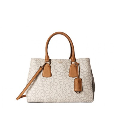 Calvin Klein Kate Monogram Satchel