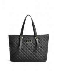 FLORENCIA QUILTED CARRYALL TOTE