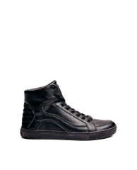 Thorley Perforated High-Top Sneakers