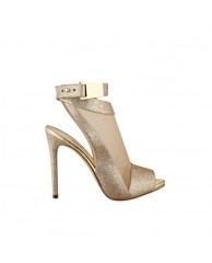 Adalie Glitter Mesh Heels