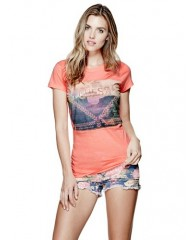IZZY CORAL FESTIVAL TEE