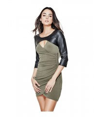 Aiden Three-Quarter Sleeve Dress