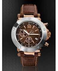 Gc-1 Brown Leather Timepiece