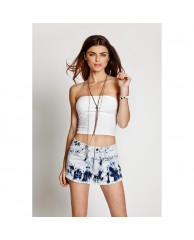 Knot-Back Crop Tube Top