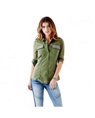 Linda Long-Sleeve Cargo Shirt
