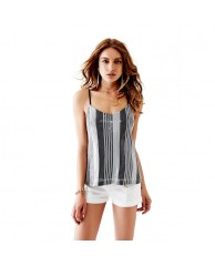 Sequin Striped Tank
