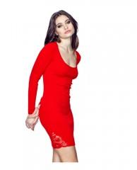 Allison Lace-Inset Dress