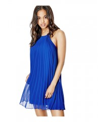 Fiona Sleeveless Pleated Dress