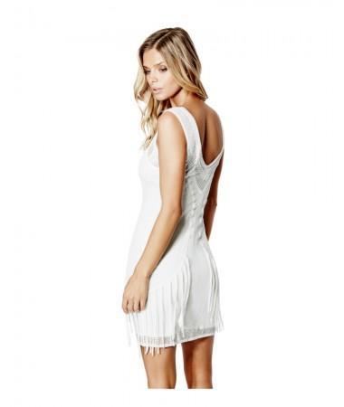 Sloane Sleeveless Fringe Dress