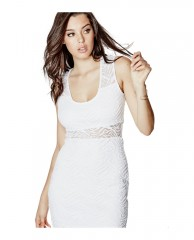 Tiara Tiger-Lace Two-Way Dress