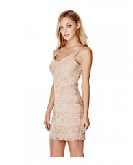 Jessica Sleeveless Lace Dress