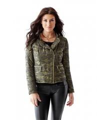 Packable Long-Sleeve Moto Jacket