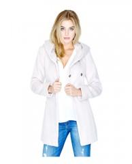 Savannah Wool-Blend Coat