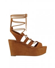 Denaya Lace-Up Flatform Sandals