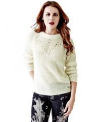 Candida Pointelle Sweater
