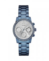 Blue Midsize Feminine Sport Watch