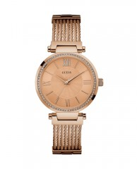 Rose Gold-Tone Modern Woven Watch