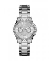 Silver-Tone Shimmer Sport Watch